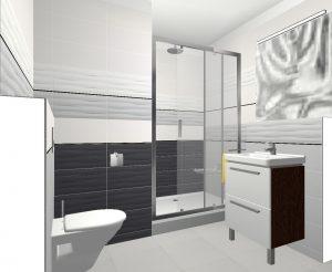 Byt Kladno Váňova - 3D návrh