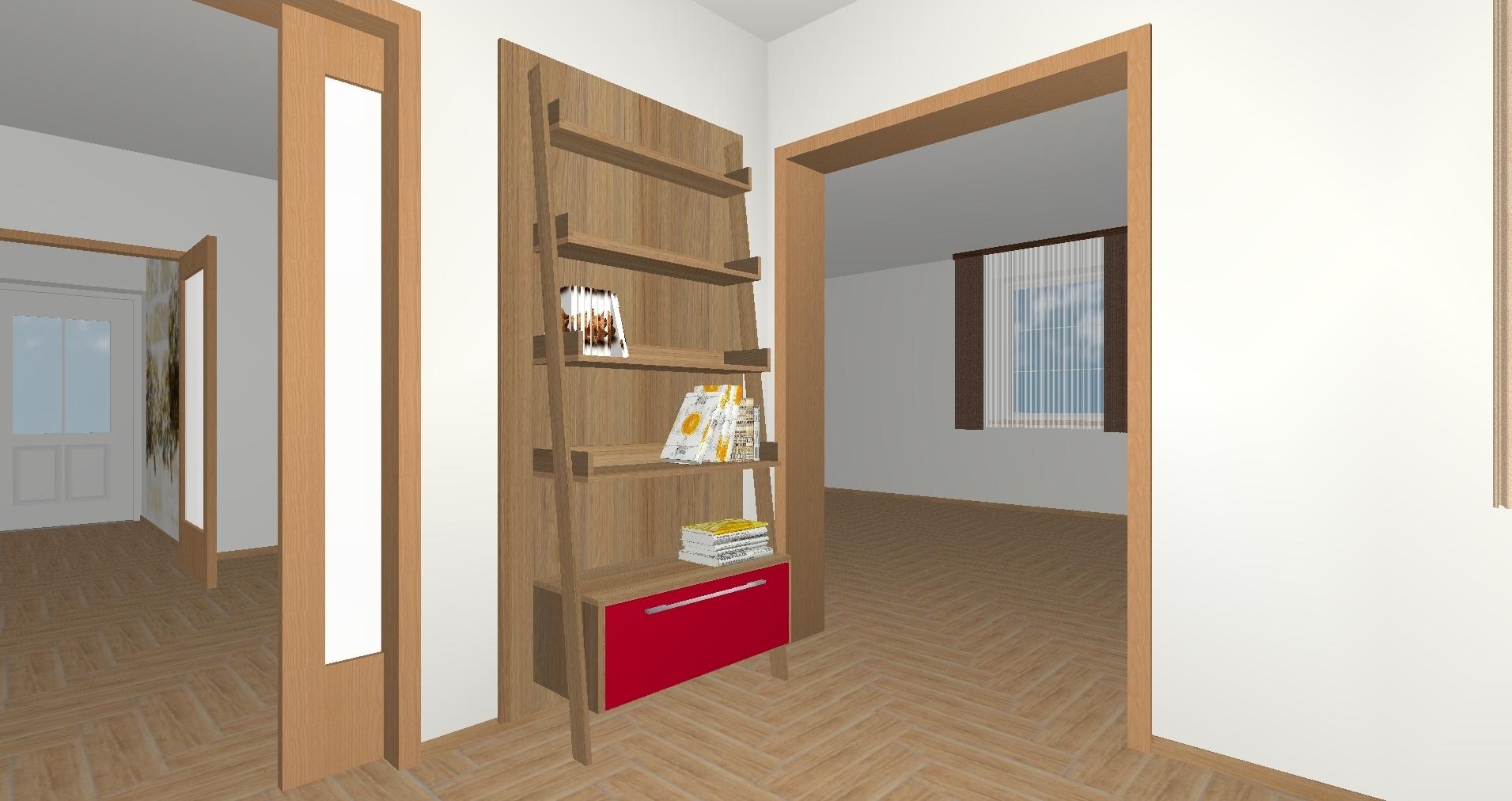 RD Horní Bezděkov Úzká - 3D návrh 1NP
