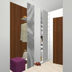 Byt Kladno Karla Tomana - 3D návrh