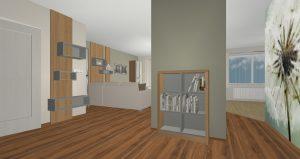 RD Kladno Tylova - 3D návrh