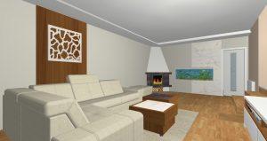 RD Tuřany - 3D návrh
