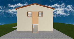 RD Velké Přítočno U Dráhy - 3D návrh II