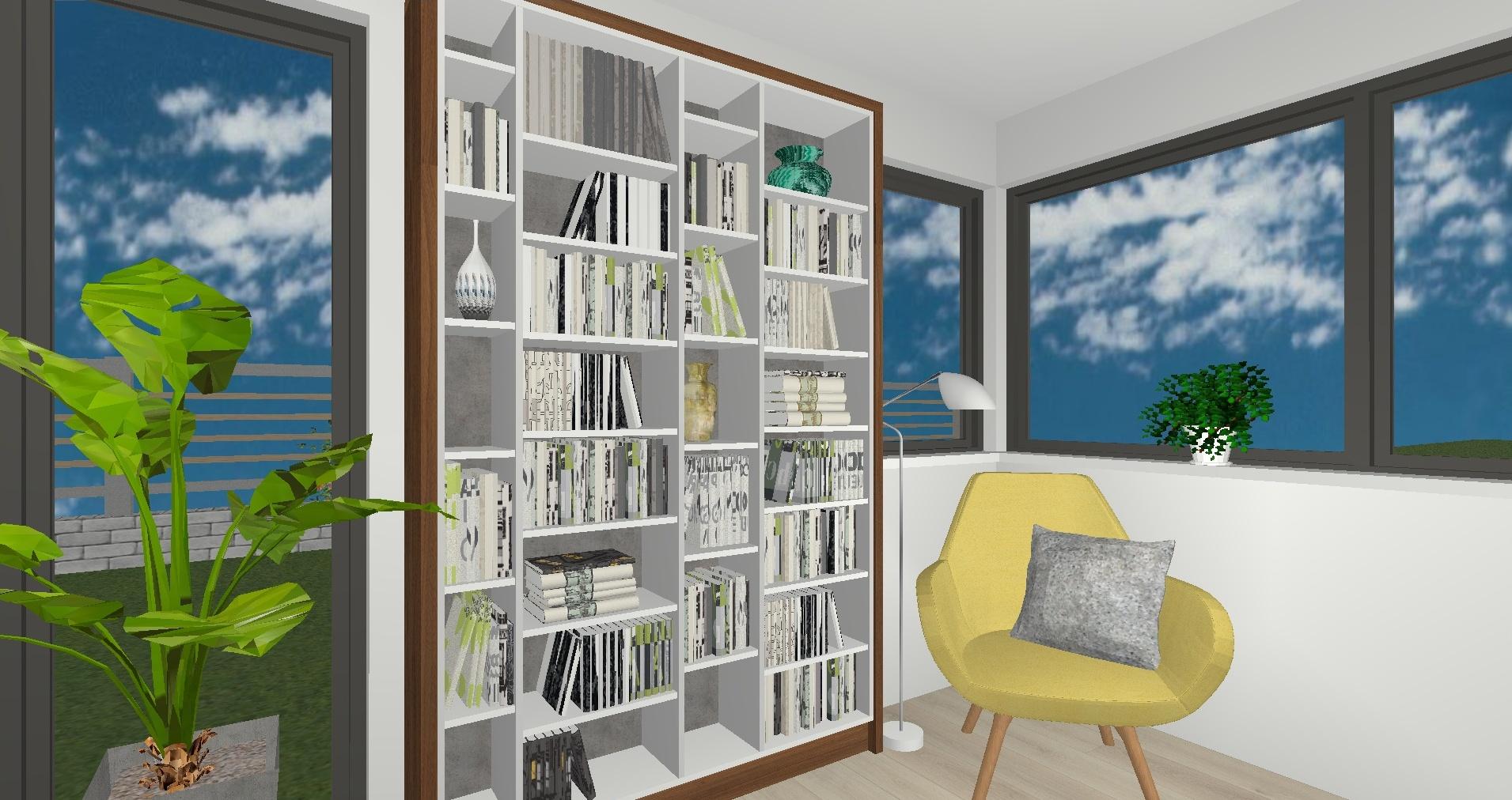 RD Brandýsek Pod Studánkou - 3D návrh