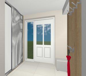RD Smečno Slánská - 3D návrh 1NP